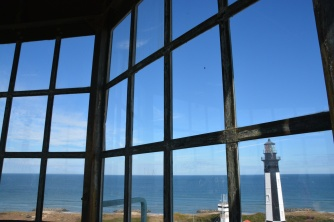 View from the window of the lighthouse